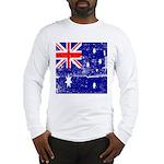 Vintage Australian Flag Long Sleeve T-Shirt