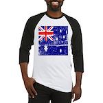 Vintage Australian Flag Baseball Jersey