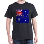 Vintage Australian Flag Dark T-Shirt