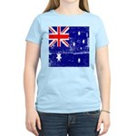 Vintage Australian Flag Women's Light T-Shirt