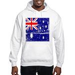 Vintage Australian Flag Hooded Sweatshirt