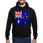 Vintage Australian Flag Hoodie (dark)