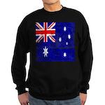 Vintage Australian Flag Sweatshirt (dark)