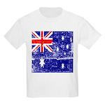 Vintage Australian Flag Kids Light T-Shirt