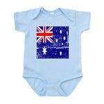 Vintage Australian Flag Infant Bodysuit