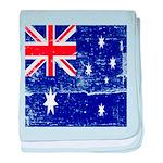 Vintage Australian Flag baby blanket