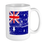Vintage Australian Flag Large Mug
