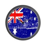 Vintage Australian Flag Wall Clock
