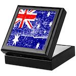 Vintage Australian Flag Keepsake Box