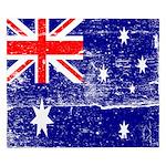 Vintage Australian Flag King Duvet