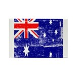 Vintage Australian Flag Rectangle Magnet