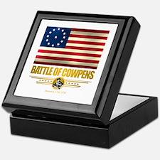 """Battle of Cowpens"" Keepsake Box"