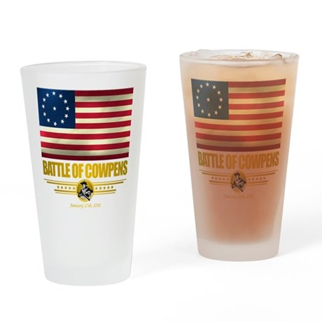 """Battle of Cowpens"" Drinking Glass"