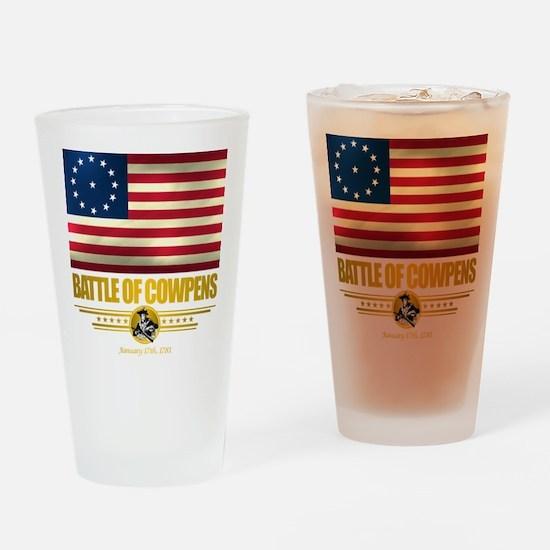 """Battle of Cowpens"" Drinking Glass"