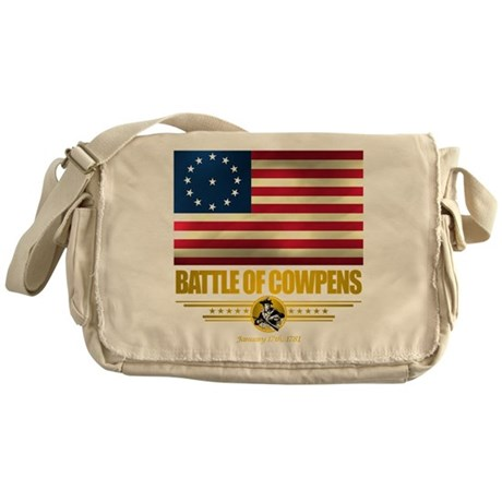 """Battle of Cowpens"" Messenger Bag"