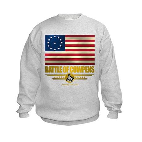 """Battle of Cowpens"" Kids Sweatshirt"