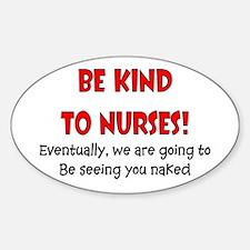 Nurse Humor Decal