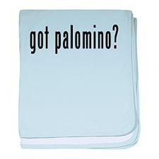 GOT PALOMINO baby blanket