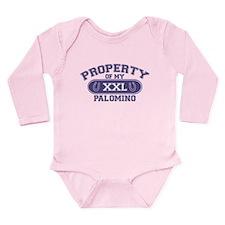 Palomino PROPERTY Long Sleeve Infant Bodysuit
