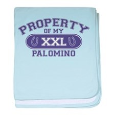 Palomino PROPERTY baby blanket