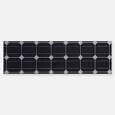 Solar Panel Bumper Bumper Sticker