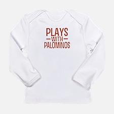 PLAYS Palominos Long Sleeve Infant T-Shirt
