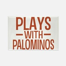 PLAYS Palominos Rectangle Magnet