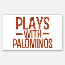 PLAYS Palominos Decal