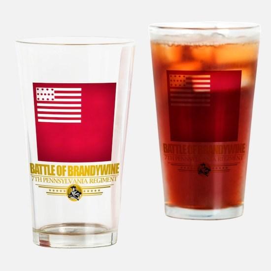"""Battle of Brandywine"" Drinking Glass"