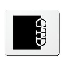 GTD Typography Mousepad