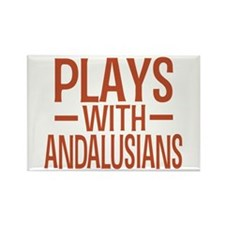 PLAYS Andalusians Rectangle Magnet