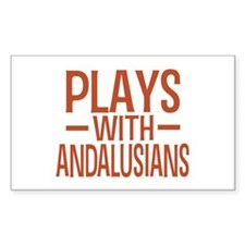PLAYS Andalusians Decal
