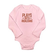 PLAYS Andalusians Long Sleeve Infant Bodysuit
