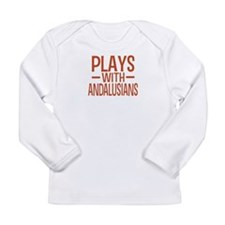 PLAYS Andalusians Long Sleeve Infant T-Shirt
