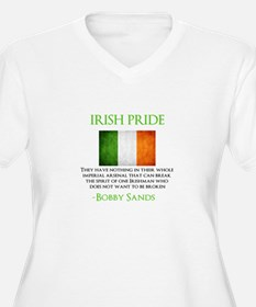 Irish Pride T Plus Size T-Shirt