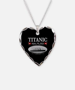 Titanic Ghost Ship (black) Necklace