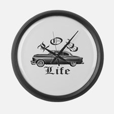 low life lowrider Large Wall Clock