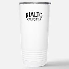 Rialto California Travel Mug