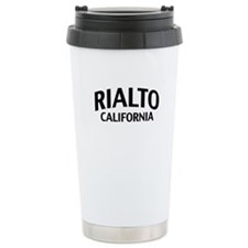 Rialto California Travel Mug