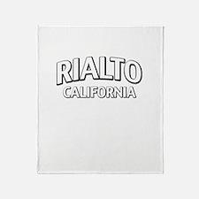 Rialto California Throw Blanket