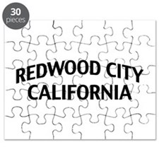 Redwood City California Puzzle