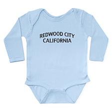 Redwood City California Long Sleeve Infant Bodysui