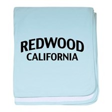 Redwood California baby blanket