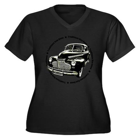 1941 chevy coupe street rod Women's Plus Size V-Ne