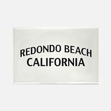 Redondo Beach California Rectangle Magnet