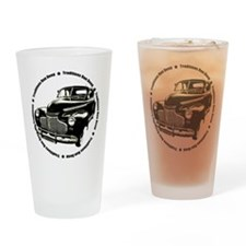 1941 chevy coupe street rod Drinking Glass