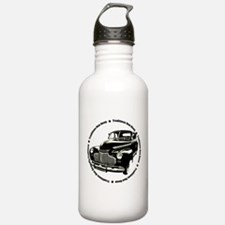 1941 chevy coupe street rod Water Bottle