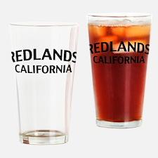 Redlands California Drinking Glass
