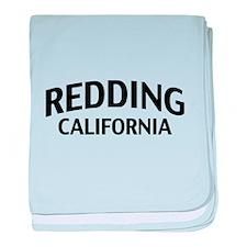 Redding California baby blanket
