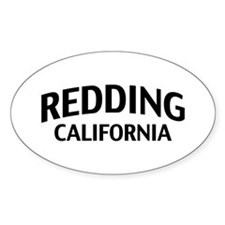 Redding California Decal